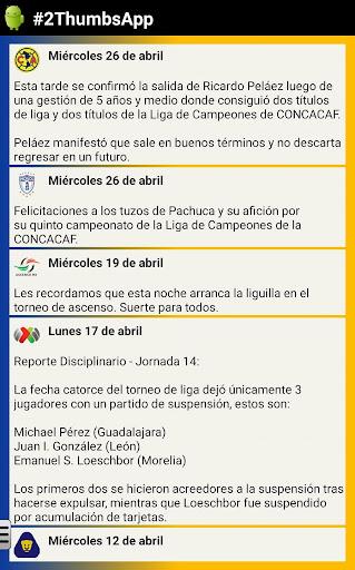 Soccer Mexican League 7.1.0 screenshots 8