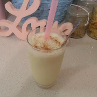 Vegan Eggnog Milkshake.