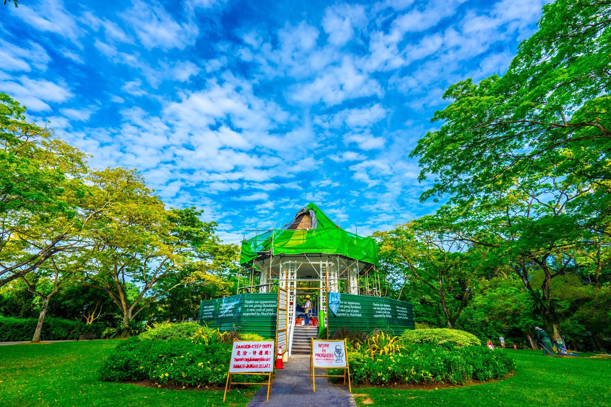 シンガポール植物園(ボタニック・ガーデン) バンドスタンド2