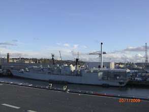 Photo: HMS Cumberland from HMS Ocean