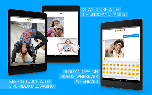 Screenshots of Glide - Video Chat Messenger for iPhone