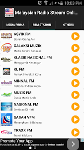 Malaysian Radio Stream Online screenshot 3