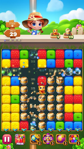 Sweet Garden Blast Game apkmr screenshots 8