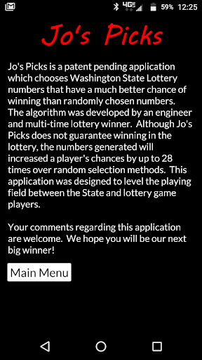 Jo's Picks 1.0.08 screenshots 1