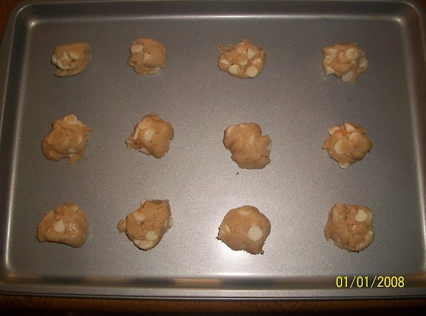 Drop by rounded teaspoonfuls onto an ungreased cookie sheet.  Bake for 9 minutes...