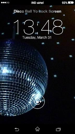 Disco Ball Yo Locker HD