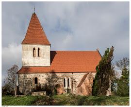 Photo: Gotische Feldsteinkirche in Zehna aus dem 13. Jahrhundert