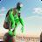 Rope Frog Ninja Hero - Strange Gangster Vegas logo