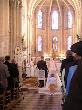 Photo: Mariage à l'église de Ressons sur Matz