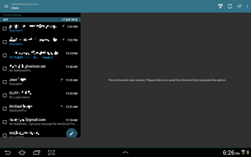 MailDroid screenshot 11