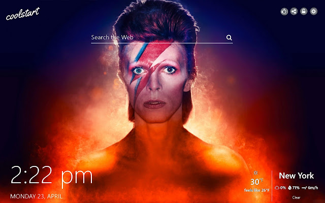David Bowie HD Wallpapers Music New Tab Theme