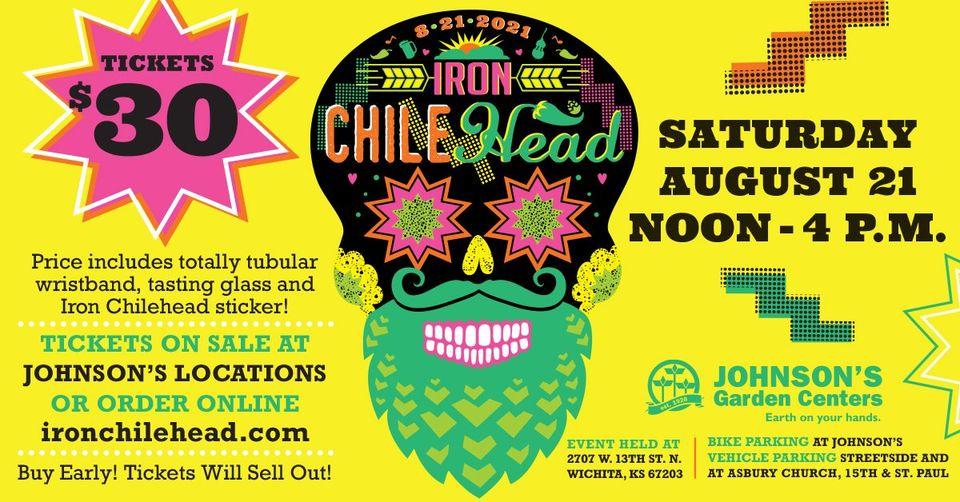 Iron ChileHead festival poster