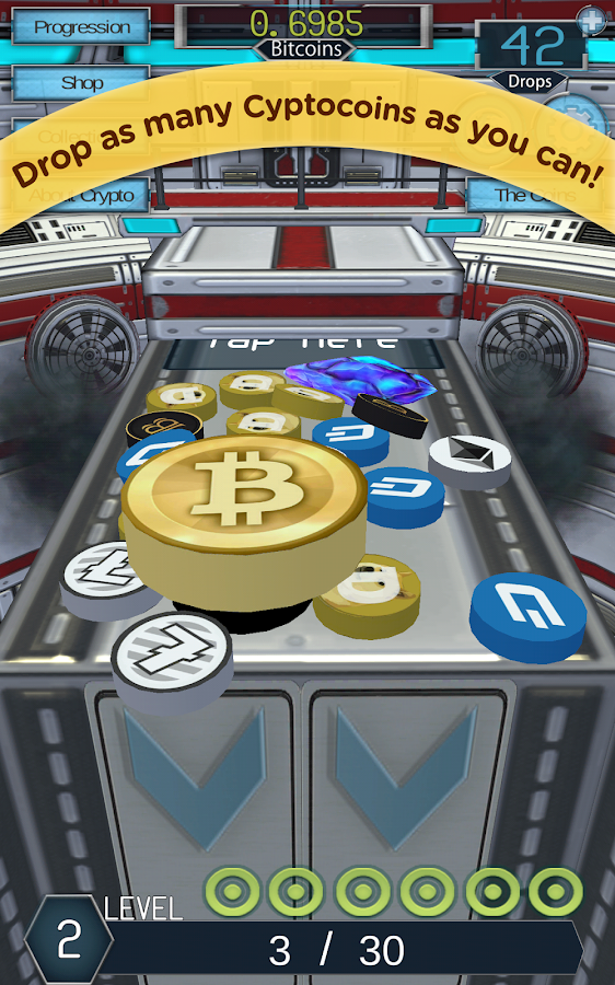 Crypto Coin Drop:Bitcoin Dozer- screenshot