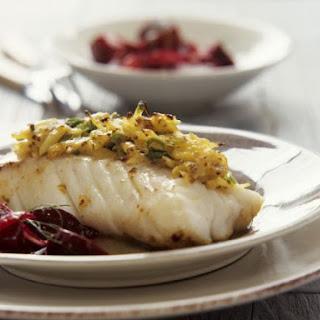 Roast Cod with Mustard