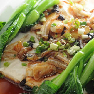 P.F. Chang's Steamed Fish with Ginger and Green Onions.