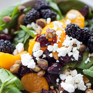Citrus Berry Spinach Salad
