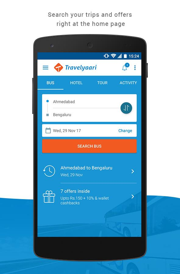 Travelyaari - Online Bus Booking & Bus Tickets- screenshot