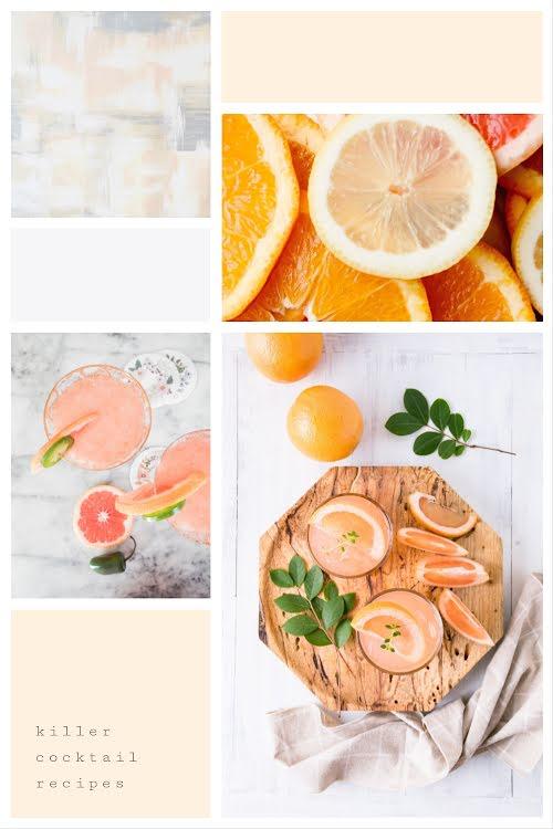 Killer Cocktail Recipes - Pinterest Pin Template