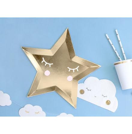 Tallrikar Stjärna - Little Star