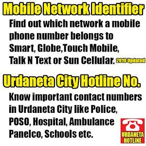 Urdaneta City Hotline & Mobile Network Identifier APK 7 0
