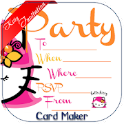 Kitty party invite card maker apps on google play kitty party invite card maker stopboris Images