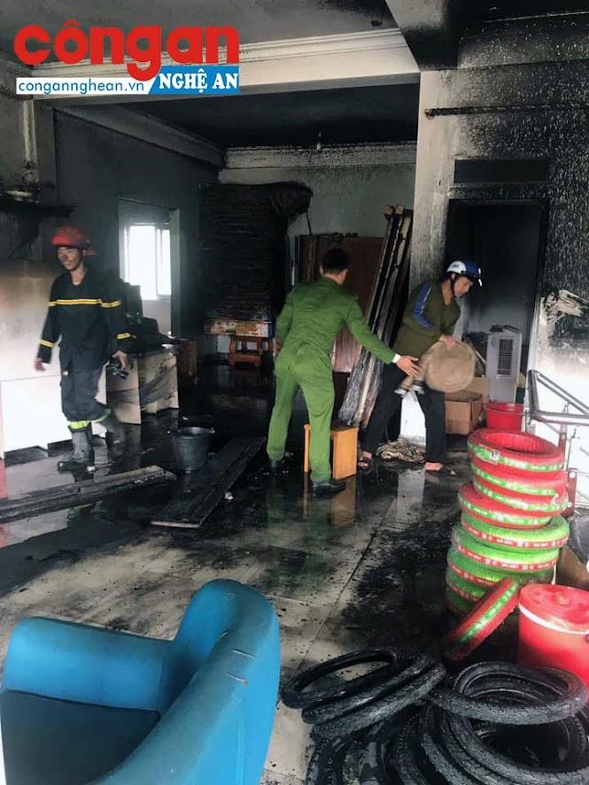 Nguyên nhân vụ cháy đang được điều tra