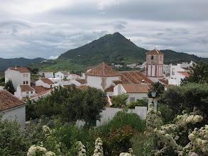 "Photo: Gaucin advertises itself as ""the quietist of Andalucia's white villages."""