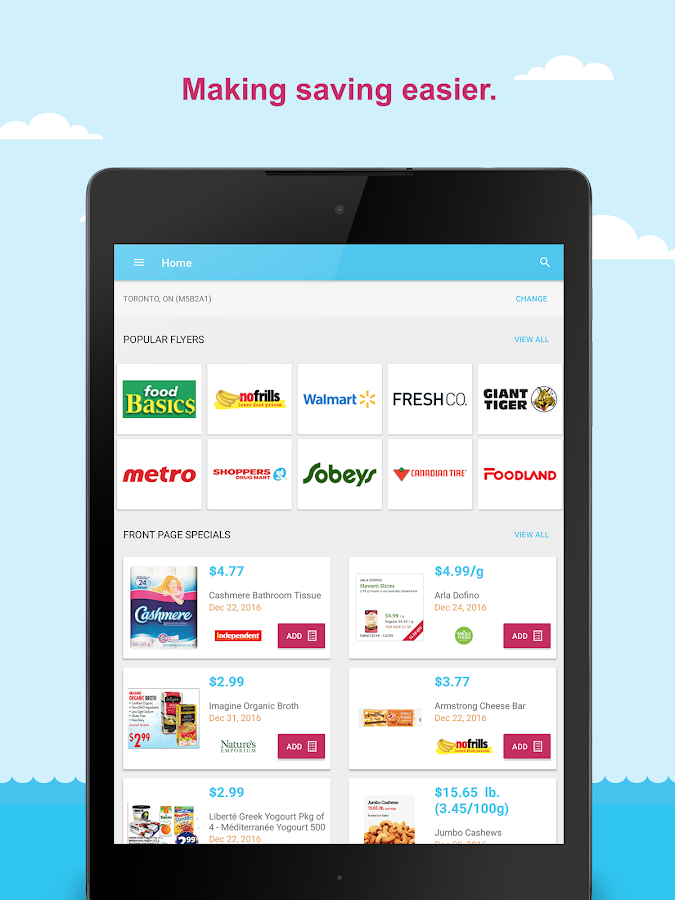 SaleWhale - grocery flyers- screenshot