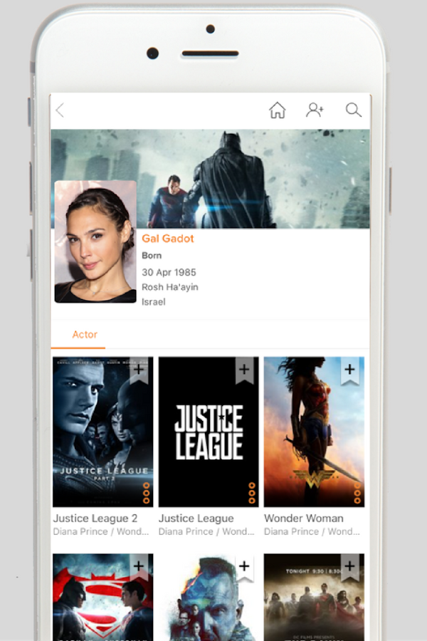 Sputtr- Discover Movies and Tv- screenshot