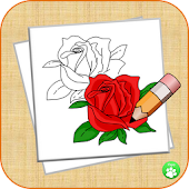 How To Draw A Rose StepByStep