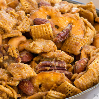 Addicting Toffee Chex Mix