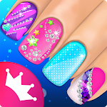 Princess Salon Magic Nail Game Icon
