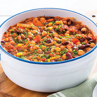 Spicy Red Kidney Bean Casserole.