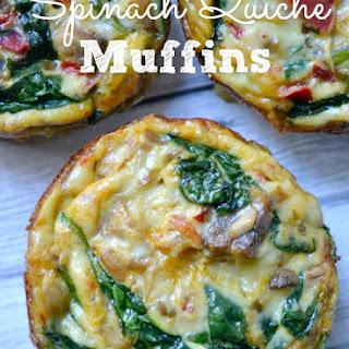 Spinach Quiche Muffins.
