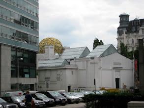 Photo: The Succession Building houses a major Art Nouveau exhibit we did not get to visit.