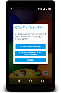 Q Anti Theft Alarm Pro Screenshot