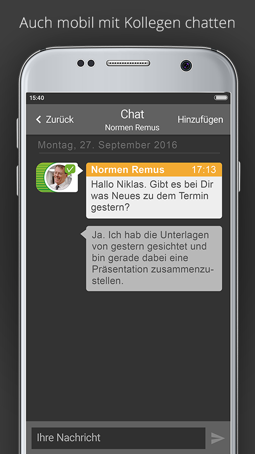 STARFACE Mobile Client- screenshot