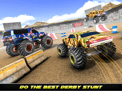 Army Monster Truck Demolition : Derby Games 2020 for PC-Windows 7,8,10 and Mac apk screenshot 5