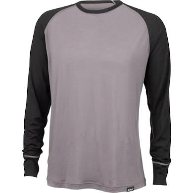 Surly Merino Raglan T-Shirt - Gray/Black