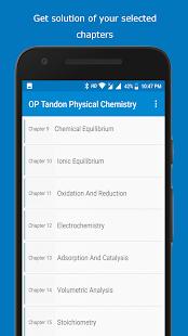 Op Tandon Physical Chemistry Textbook - náhled