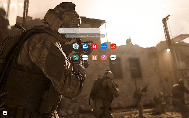 Call of Duty Modern Warfare 2019 HD New Tab