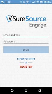 SureSource Engage - náhled