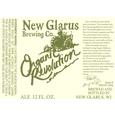New Glarus Organic Revolution