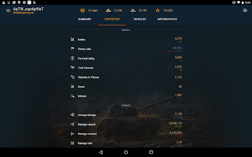World of Tanks Blitz Assistant- screenshot thumbnail
