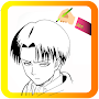 How To Draw Attack On Tian Characters APK icon