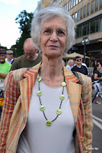 Photo: Renate Rüter von den Senioren gegen Stuttgart 21 http://www.youtube.com/watch?v=Q61mC4wOlBg&feature=youtu.be