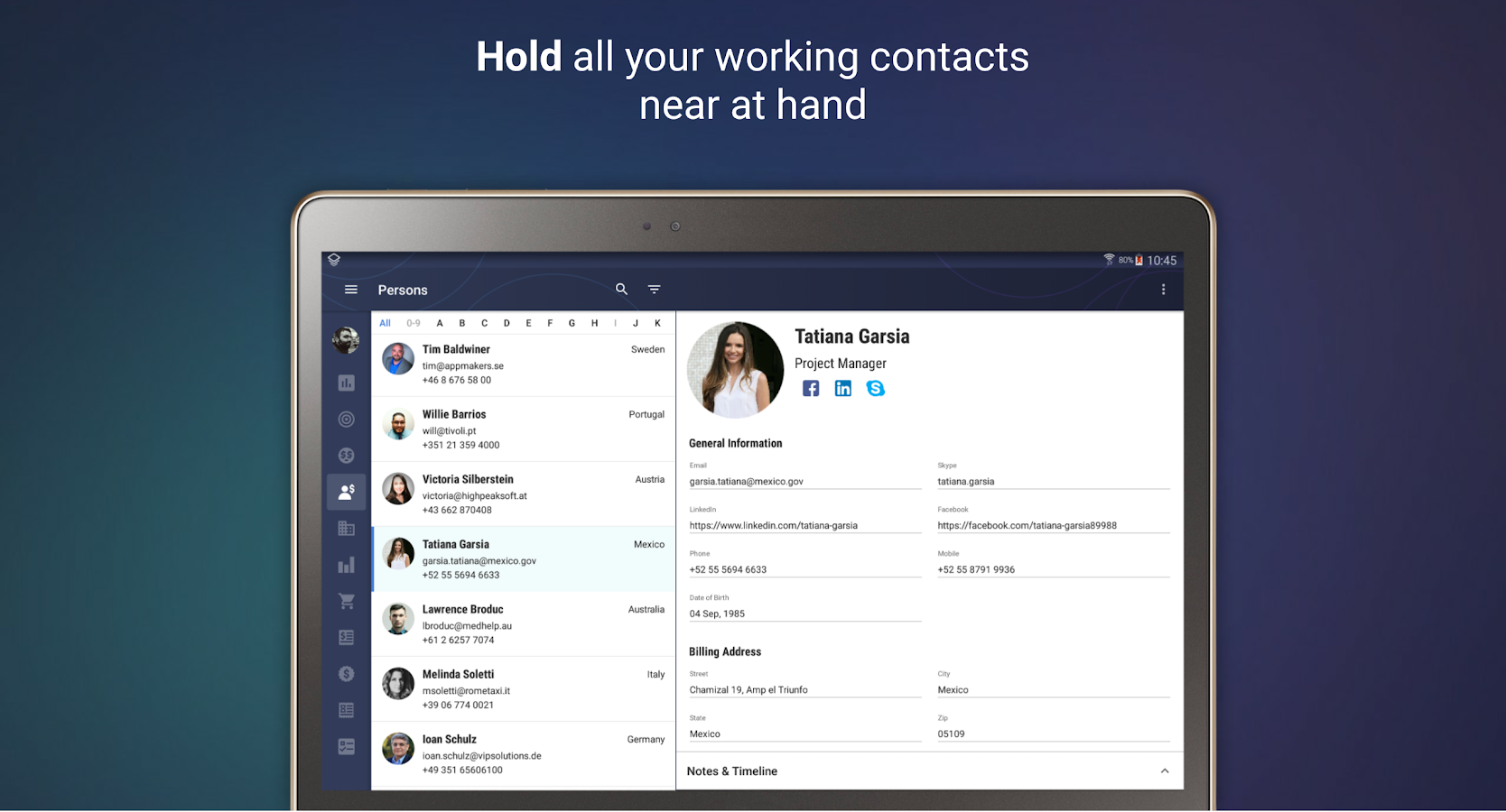 EasyERP: ERP and Sales CRM- screenshot