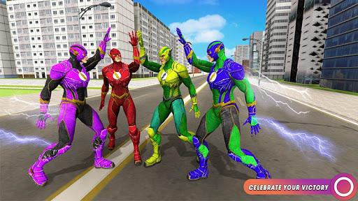 Speed Flash Superhero Fighting City Rescue 1.1.1 screenshots 13