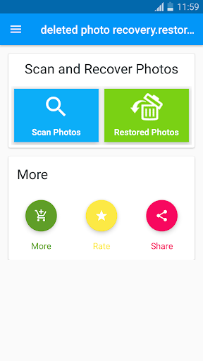 deleted photo recovery.restore image screenshots 1