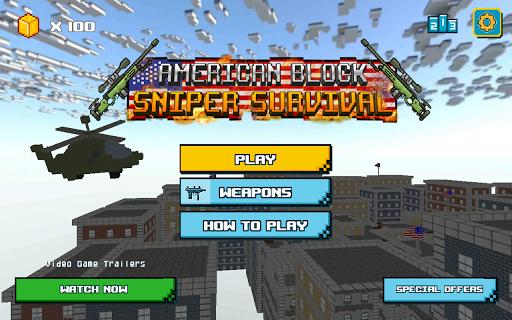 American Block Sniper Survival  screenshots 14